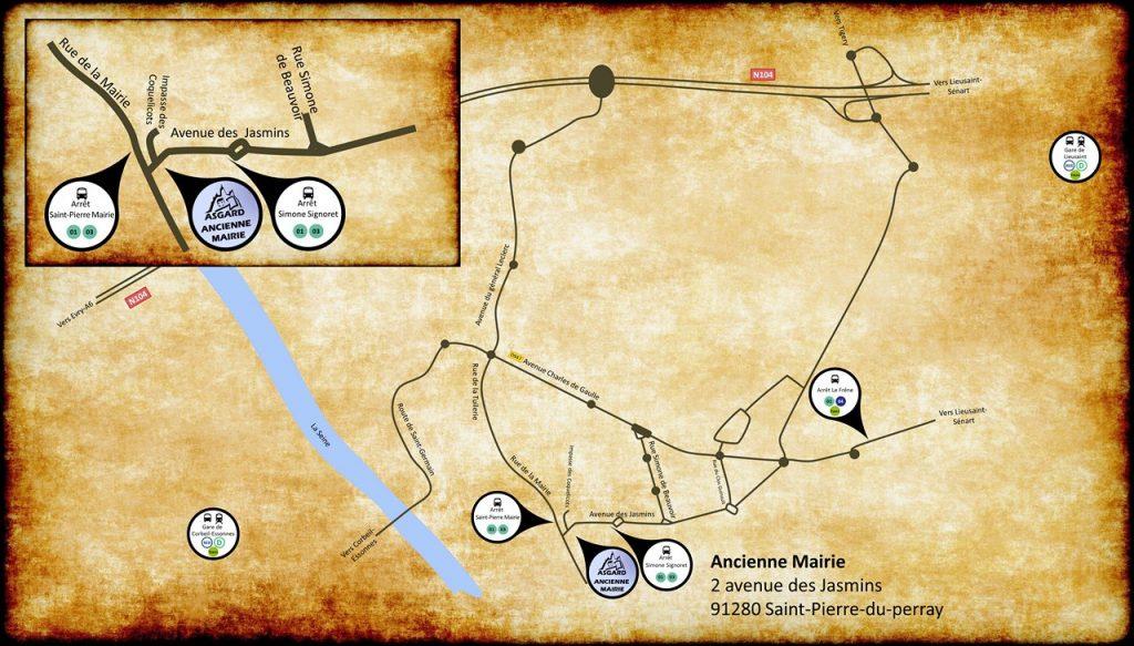 Plan ancienne mairie
